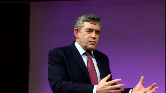 brown speech at royal institute gordon brown speech continued sot i've had privilege of working with tim bernerslee inventor of internet i see huge... - polio stock videos and b-roll footage