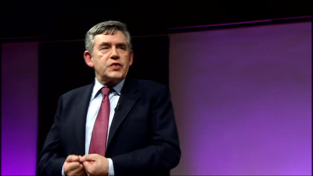 brown speech at royal institute gordon brown speech continued sot something has gone wrong in relationship between different countries in way we... - traditionally austrian stock videos & royalty-free footage
