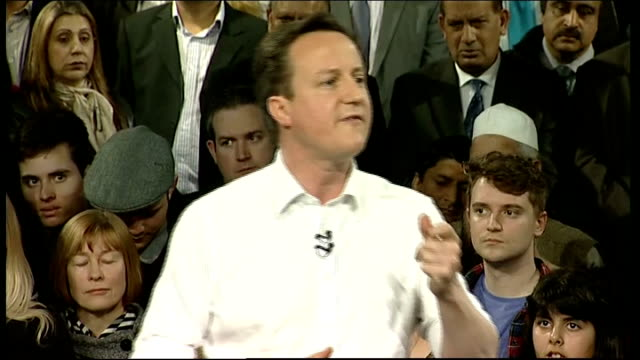 campaigning begins cameron addresses party activists in leeds people might be black or white rich or poor straight or gay / think of the people we... - red tape stock videos & royalty-free footage