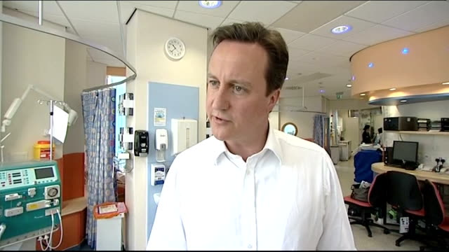 david cameron interview ahead of the third election debate david cameron interview sot [asked whether it will be easier for him at the leaders debate... - politics and government stock videos & royalty-free footage