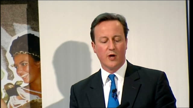 david cameron speech at the fashion retail academy david cameron speech continues sot international investors would wonder is britain up to dealing... - things that go together stock videos & royalty-free footage