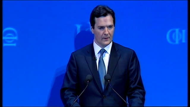 george osborne speech at iod convention george osborne speech sot within days of the election we will create an independent office for budget... - elimination round stock videos and b-roll footage