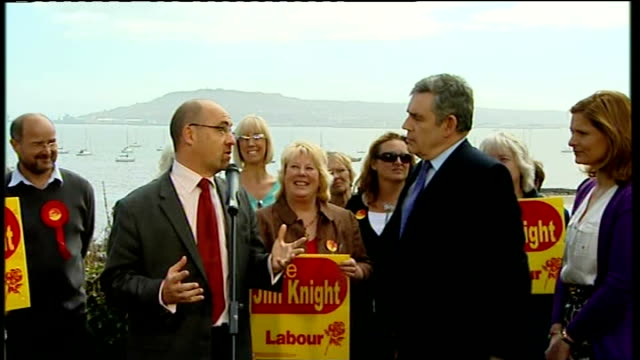 gordon brown giving speech in weymouth gordon brown introduced by knight sot brown speech sot huge pleasure and privilege to be here / you have... - mother in law stock videos & royalty-free footage