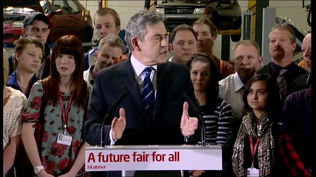 gordon brown speech at city college coventry england midlands coventry city college int liam byrne introducing gordon brown sot / gordon brown... - liam cunningham stock videos & royalty-free footage