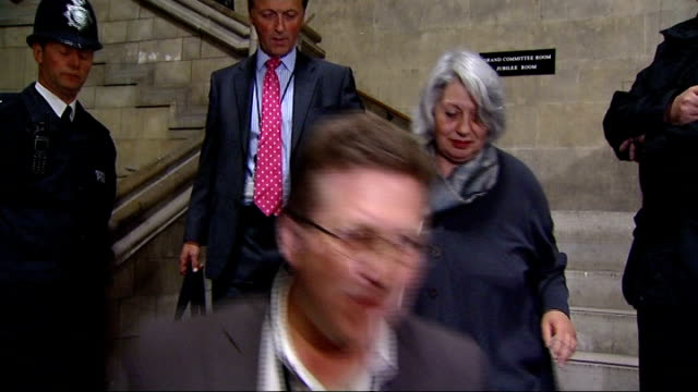general election 2010: hung parliament: liberal democrat mps meet to discuss coalition options; various liberal democrat mps departing meeting... - bruce campbell stock videos & royalty-free footage