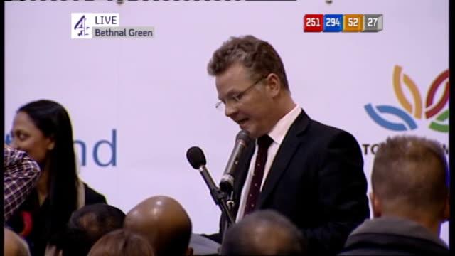 key moments of election day england london rushanara ali - bethnal green stock videos & royalty-free footage