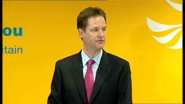 nick clegg and vince cable give press conference clegg press conference sot we will crack down on tax avoidance / our latest research shows that... - avoidance stock videos & royalty-free footage
