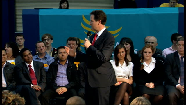 Nick Clegg makes speech to community organisations in Liverpool ENGLAND Merseyside Liverpool Wavertree PHOTOGRAPHY * * Nick Clegg MP introduced to...