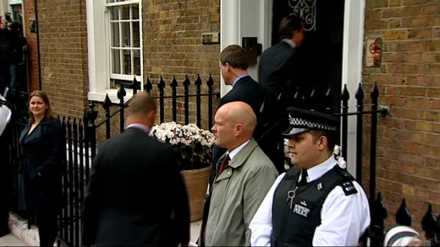 no outright election winner cameron arrival and departure at st stephen's club england london queen anne's gate st stephen's club photography * *... - george osborne stock videos & royalty-free footage