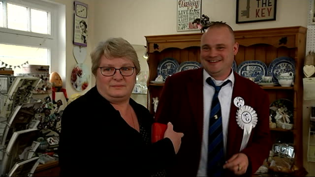 general election 2015: al murray launches campaign in south thanet; - al murray stock videos & royalty-free footage