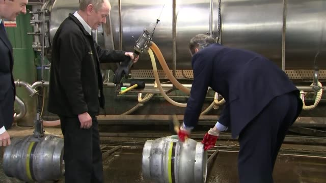 conservative party business leaders letter / labour party clamp down on zerohours wolverhampton marston's brewery photography** david cameron and... - mallet hand tool stock videos and b-roll footage