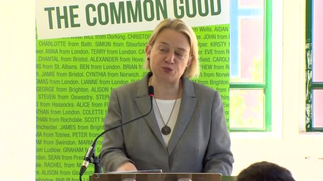 stockvideo's en b-roll-footage met green party election manifesto launched england london int various cutaways of green party 2015 general election manifesto lunch with natalie bennett... - manifest
