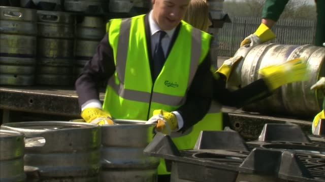 ifs criticises lack of clarity over parties' spending plans west yorkshire wakefield morley and outwood constituency ext george osborne helping to... - politische gruppe stock-videos und b-roll-filmmaterial