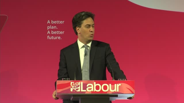 Labour Ed Miliband speech Miliband speech SOT In Labour British not one rule for the rich and powerful and another for everyone else Britain needs a...