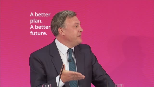 labour event in brighton with delia smith ed miliband speech england east sussex brighton int peter kyle introduction speech sot ed balls speech sot... - delia smith stock videos and b-roll footage