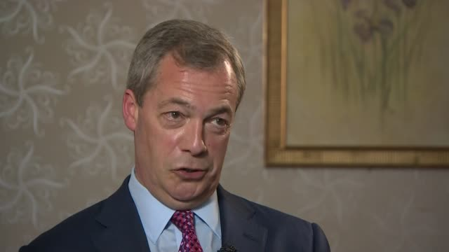 stockvideo's en b-roll-footage met liberal democrats and ukip manifestos launched itn reporter asking question nigel farage mep interview sot you've never seen a manifesto ever of any... - manifest