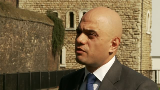 parties clash over tax england ext sajid javid interview sot london kingston nick clegg with ed davey as clegg uses mallet to hammer in liberal... - mallet hand tool stock videos and b-roll footage