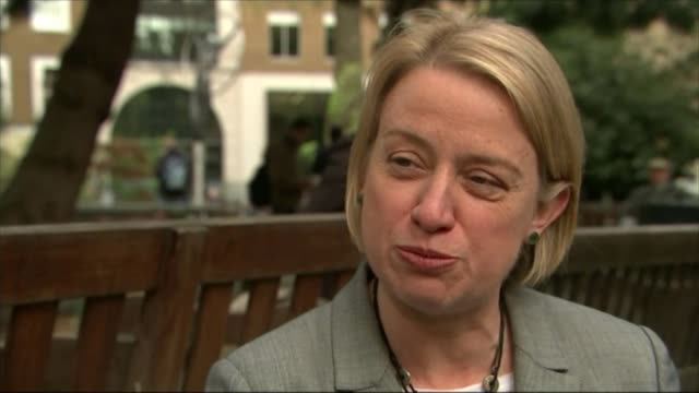 rise in green party membership england london ext various of green party leader natalie bennett addressing supporters and journalists at launch of... - green party stock videos and b-roll footage