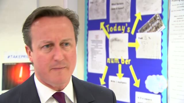 stockvideo's en b-roll-footage met row over labour's plan to scrap 'nondom' tax status david cameron interview sot we've done more than any previous government to crack down on tax... - vermijden