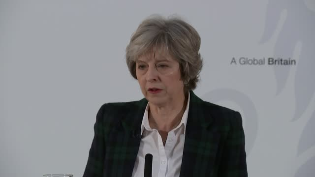brexit eu wait to find out uk government negotiating position lib / 1712017 theresa may mp speech sot no deal for britain is better than a bad deal... - improvement stock videos & royalty-free footage