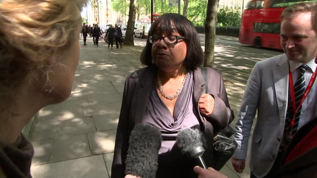 diane abbott gaffe on police costs / fall out from may and juncker dinner continues general election 2017 diane abbott gaffe on police costs / fall... - diane abbott stock videos & royalty-free footage