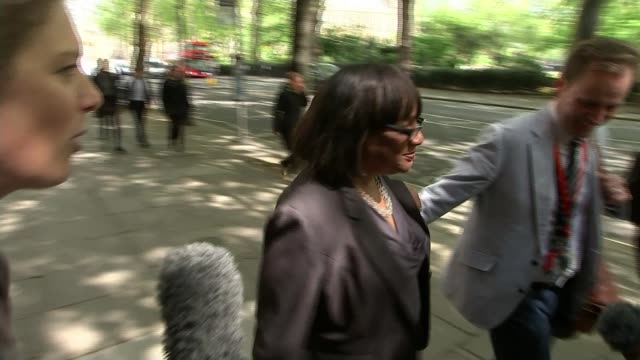 final day of campaigning labour t02051701 252017 diane abbott speaking to press and along street sot - diane abbott stock videos & royalty-free footage