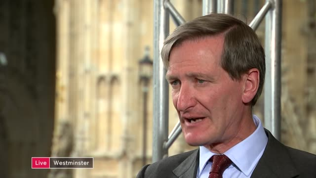 hung parliament impact on brexit england london ext dominic grieve mp live interview sot gina miller live interview sot reporter to camera - impact stock videos and b-roll footage