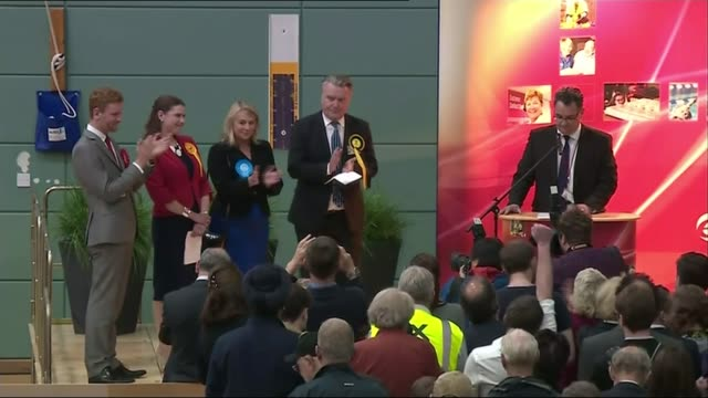 hung parliament scotland results east dunbartonshire int jo swinson winning vote in east dunbartonshire and shaking hands with other candidates on... - election stock videos & royalty-free footage