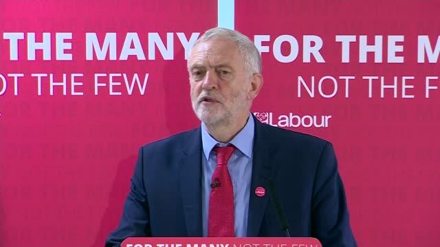 Jeremy Corbyn in Peterborough ENGLAND Cambridgeshire Peterborough INT Fiona Onasanya introduction SOT Jeremy Corbyn speech SOT Jeremy Corbyn departure