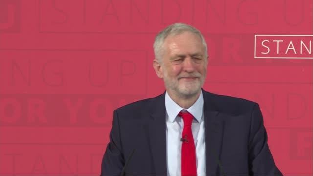 jeremy corbyn speech jeremy corbyn mp speech sot / jeremy corbyn question and answer sot - jeremy corbyn stock videos & royalty-free footage