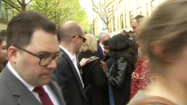 Jeremy Corbyn visit to Croydon Jeremy Corbyn MP posing for photos and selfies with supporters and supporters singing 'We love you Jeremy' SOT /...