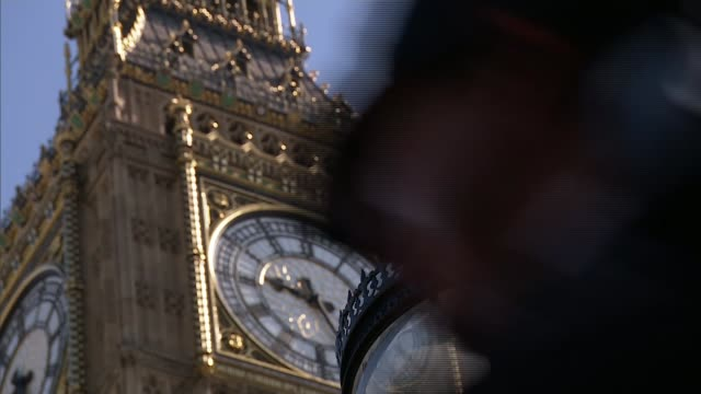 general election 2017: john major warning as tories and dup continue talks; ngland: london: westminster: ext big ben various of democratic unionist... - democratic unionist party 個影片檔及 b 捲影像