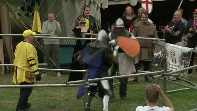 main parties campaign and set out proposals general election 2017 main parties campaign and set out proposals england ext various of people dressed... - historical reenactment stock videos and b-roll footage