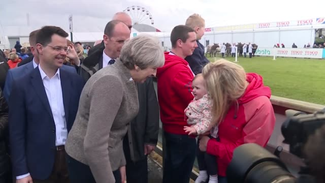 NHS cyber hack dominates election campaigning ENGLAND London Downing Street INT Amber Rudd along to Number Ten Whitehall Jeremy Hunt along to Cobra...