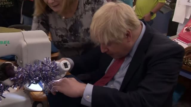boris johnson planning vote on his brexit deal in the week before christmas and postbrexit budget in february england derbyshire matlock john smedley... - number 7 stock videos & royalty-free footage