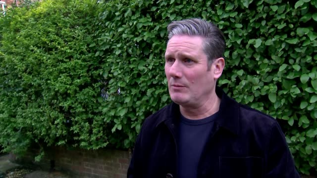general election 2019: conservative majority: sir keir starmer interview; england: london: ext sir keir starmer mp interview sot question: what's... - keir starmer stock videos & royalty-free footage