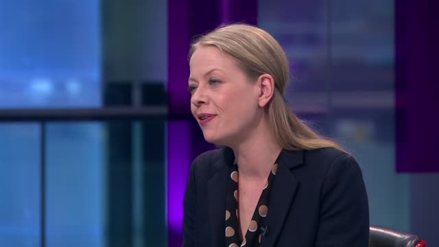 interview with green party coleader sian berry england london gir sian berry live studio interview sot - jackie long stock videos & royalty-free footage