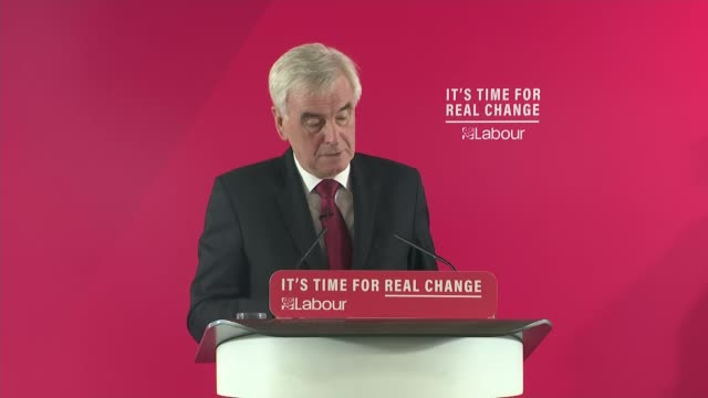 john mcdonnell speech england london lambeth int john mcdonnell question and answer session sot / john mcdonnell meeting supporters and away - lambeth stock videos & royalty-free footage