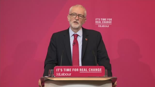 john mcdonnell speech setting out labour spending plans england liverpool invisible wind factory int jeremy corbyn speech introducing john mcdonnell... - john mcdonnell politician videos stock videos & royalty-free footage