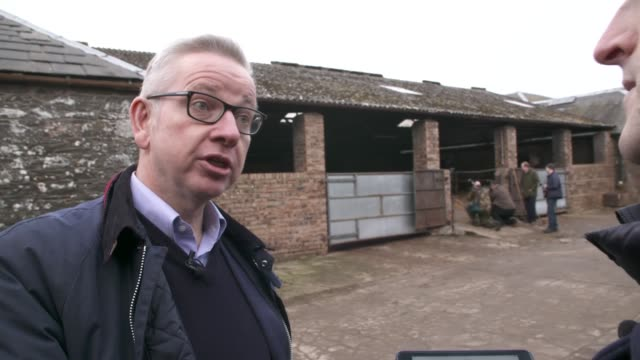 michael gove interview scotland dumfries and galloway ext michael gove interview sot part 2 of 3 - dumfries and galloway stock videos & royalty-free footage