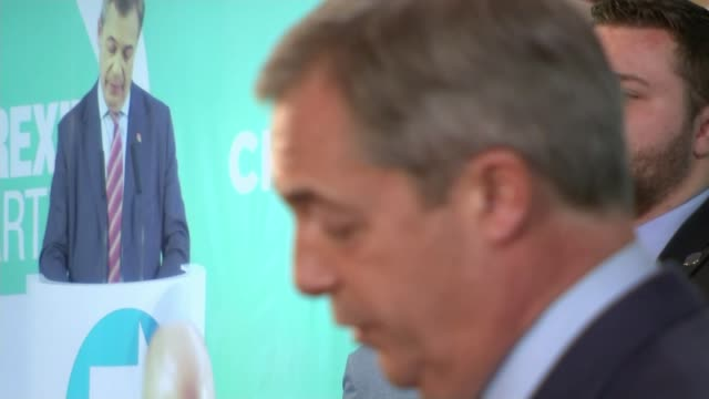general election 2019: nigel farage announces brexit party will not be contesting seats with sitting tory mps; england: county durham: hartlepool:... - county durham england stock videos & royalty-free footage
