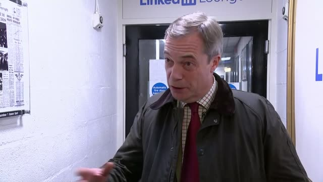 nigel farage claims number 10 insiders 'offered inducements' to get brexit party candidates to stand aside england int nigel farage mep interview sot - nigel farage stock videos & royalty-free footage