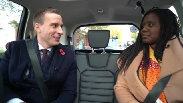 parties set out their campaign battle lines uk london marsha de cordova interview in taxi marsha de cordova in her constituency office jo swinson and... - variation stock videos & royalty-free footage