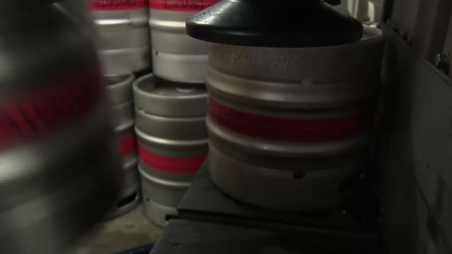 general election 2019: the conversation: view from glasgow north east; scotland: glasgow: glasgow north east constituency: ext gv drygate brewery and... - beer bottle stock videos & royalty-free footage