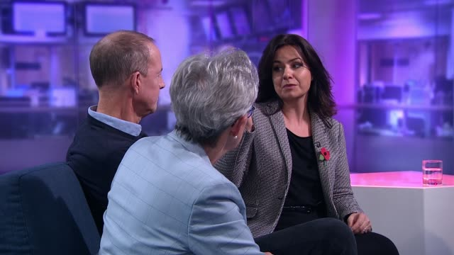 the insiders discussions about the state of our democracy england london gir int gisela stuart nick boles and heidi allen live studio interview sot - 2010 2019 stock videos & royalty-free footage