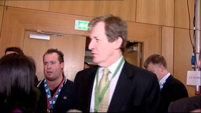 First Election Debate postdebate departures and interviews Alastair Campbell as being interviewed by press SOT Nick Clegg did very well on style...