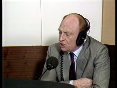 "roundup:; england: london: int lbc cms neil kinnock wearing headphones, intvw sof ""i think there is -- she displays"" - herding stock videos & royalty-free footage"