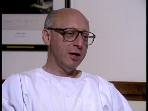 general election speculation; england london cms gerald kaufman intvw sof - major is dithering as usual/ he is trying to work out what is good for... - gerald kaufman stock videos & royalty-free footage