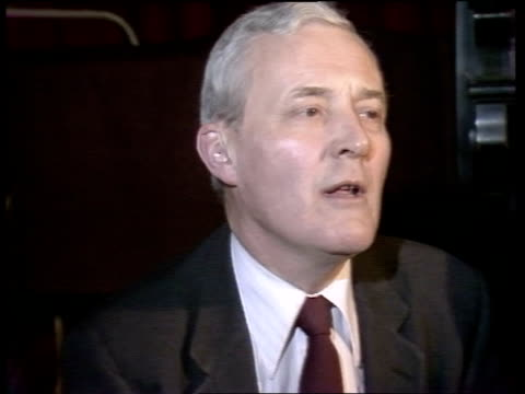 stockvideo's en b-roll-footage met tony benn interview; england: bristol: int tony benn mp interview sot - we now expect an election next month, i have no inside information, but it... - number 9