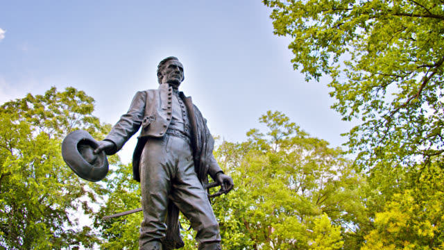 general josé gervasio artigas statue - statue stock videos & royalty-free footage